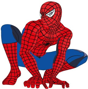 """Wholesale Printers - smartwalling - """"Spiderman"""" Wall Decal, $1.00 (http://www.wholesaleprinters.com.au/spiderman-wall-decal)"""