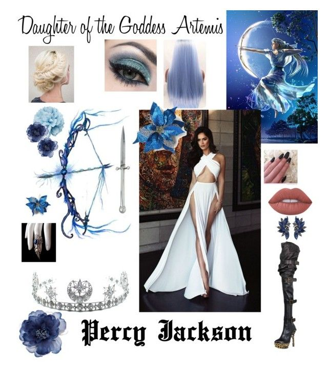 """""""Percy Jackson O/C Name: Evangeline"""" by elizrose77864 ❤ liked on Polyvore featuring Alexander McQueen, Child Of Wild, Lime Crime, Disney, Kieselstein-Cord, Accessorize and Gucci"""