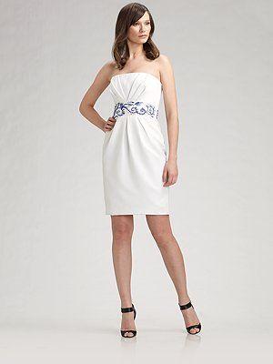 Красивые короткие платья с декольте