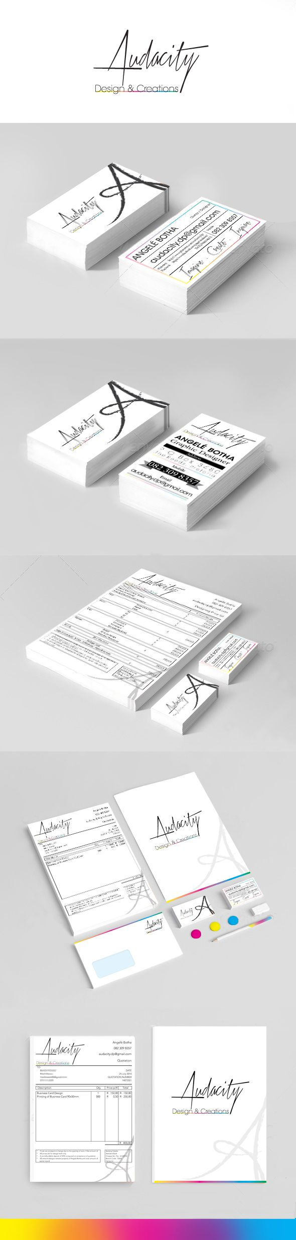 Audacity's Corporate Identity and stationary