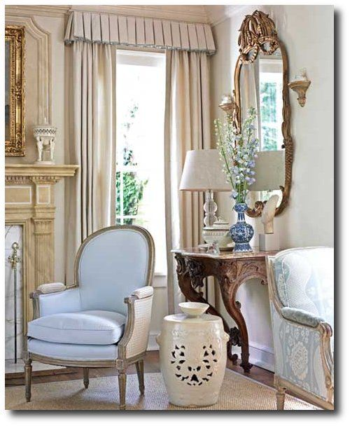 dan carithers french style decorating caritheru0027s home featured in southern accents - French Style Decoration