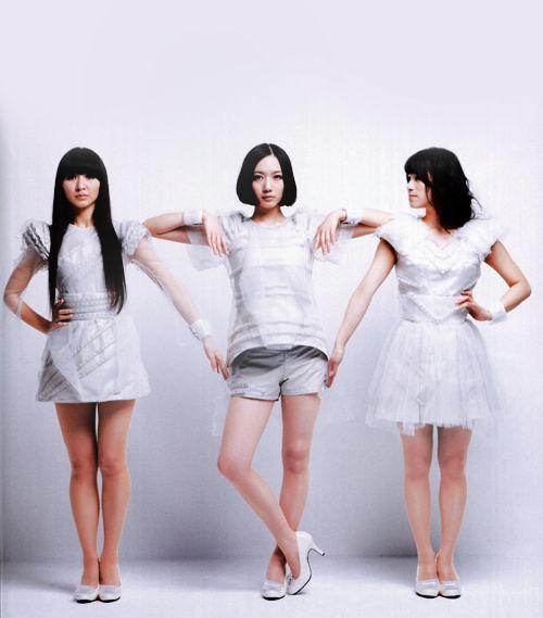 Perfume: (L-R) Kashiyuka, Nocchi, and A-chan.