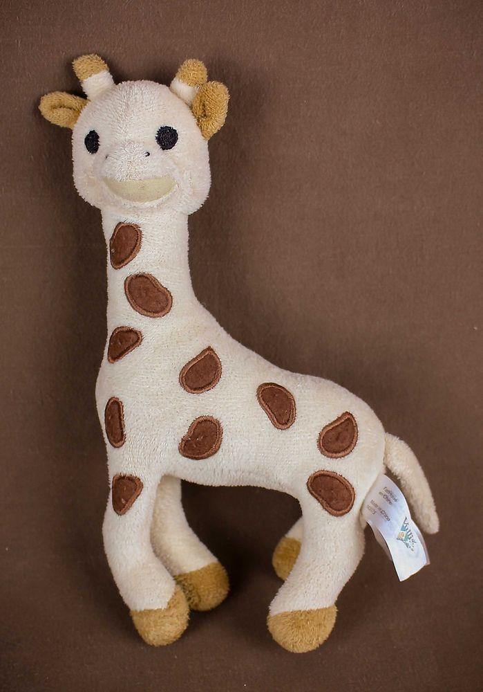 Sophie Giraffe Rattle Vulli 9 Plush Doll Stuffed Animal Baby