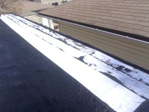 Beautiful Tar And Gravel Flat Roof Repairs Edmonton Alberta. Since Tar And Gravel Was  First Discovered It Has Been The Go To Flat Roof For Decades.