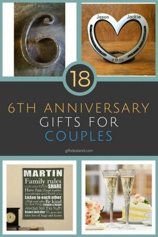 6Th Wedding Anniversary Gift Ideas