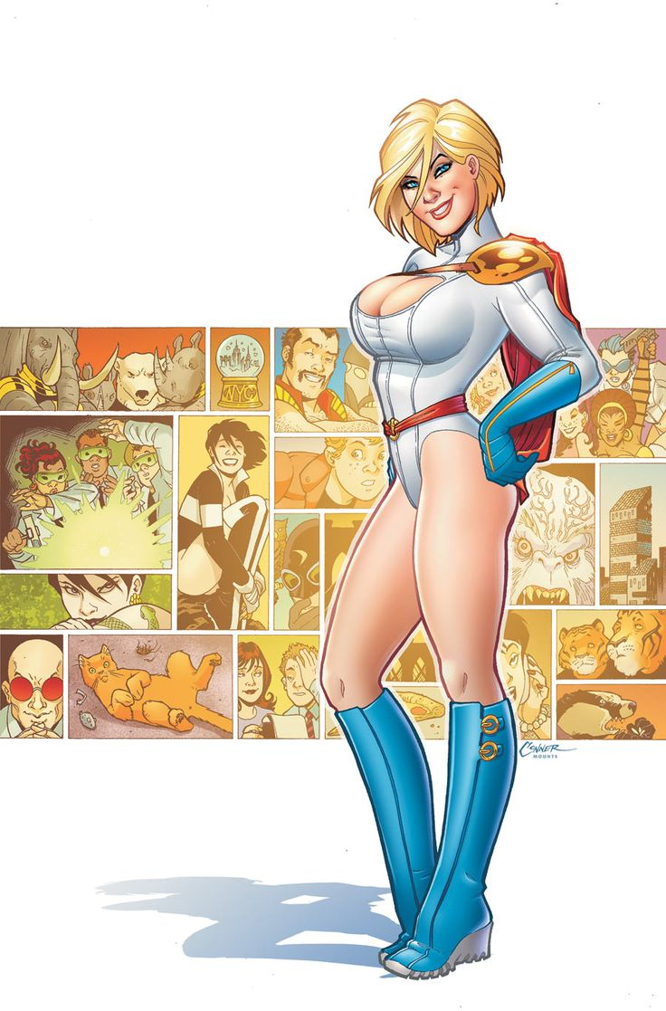 Power Girl Aliens And Apes Tp Amanda Connor  Jsapower -7314