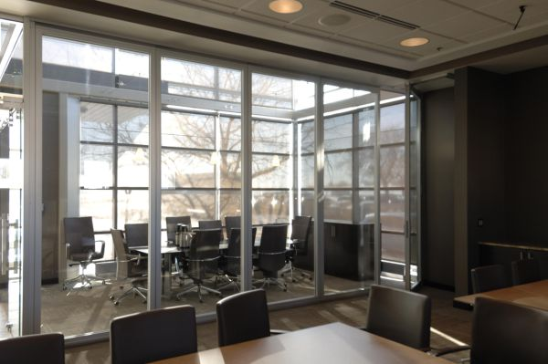 Soundproof Glass Glass Movable Partitions Daylighting