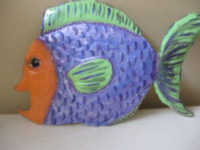 Recycled Crafts- Metal Embossed Wall Art Video