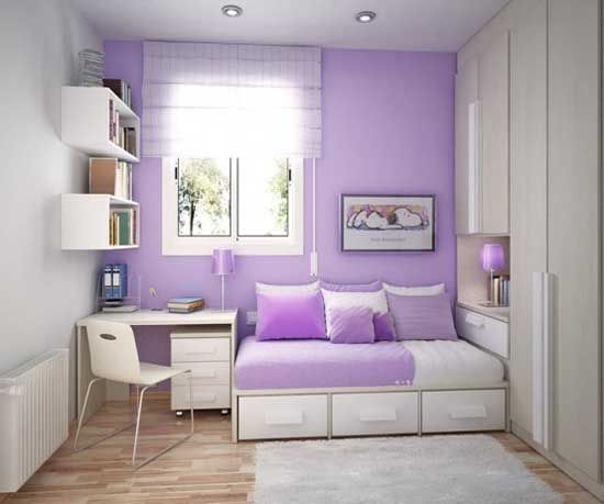 cute idea for an extra room or kids bedroom love the