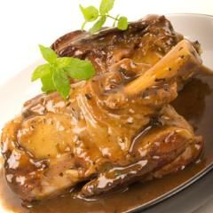 Presure cooker - lamb shanks