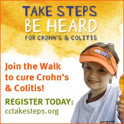 Spread the Word about CCFA! - Take Steps, Be Heard for Crohn's and Colitis support Team # 2