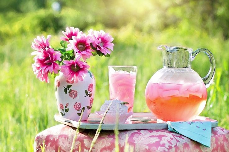 12 Summer Drink Recipes to Help You Cool Off:  This One Is - Pink Lemonade Recipe