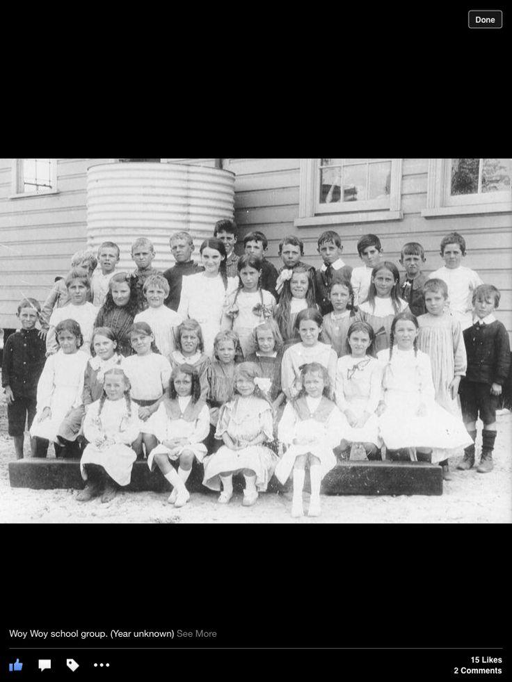 Woy Woy Primary school . Year unknown