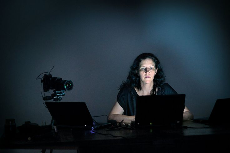 Documentary filmmaker Laura Poitras in Berlin. From NYT Article: How Laura Poitras Helped Snowden Spill His Secrets. Photo by: Olaf Blecker