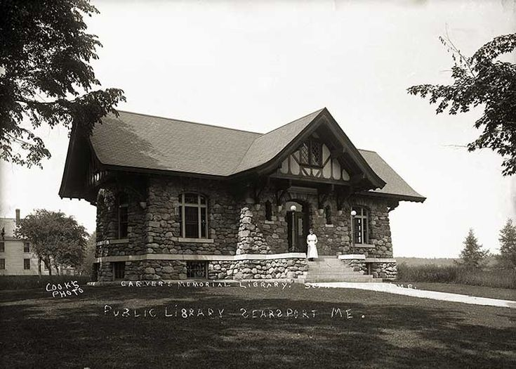 Carvers Memorial Library, Searsport, Maine -- Love!