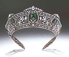Harcourt Tiara: Queen Elizabeth, Diamonds Tiaras, Collectibles Jewelry Roy, Crowns Jewels, Crowns Tiaras Coronet, Harcourt Tiaras Emeralds, Harcourt Emeralds, Evil Queen, Crowns Tiaras Headpieces