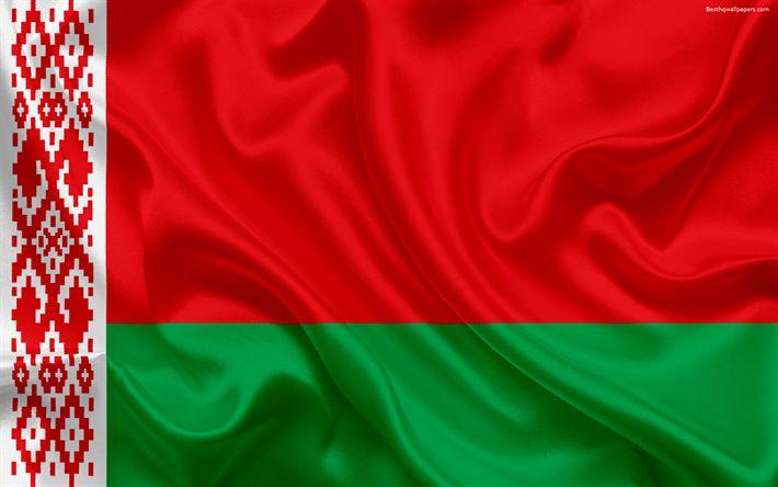 Download wallpapers flag of Belarus, Europe, Belarus, flags of European countries