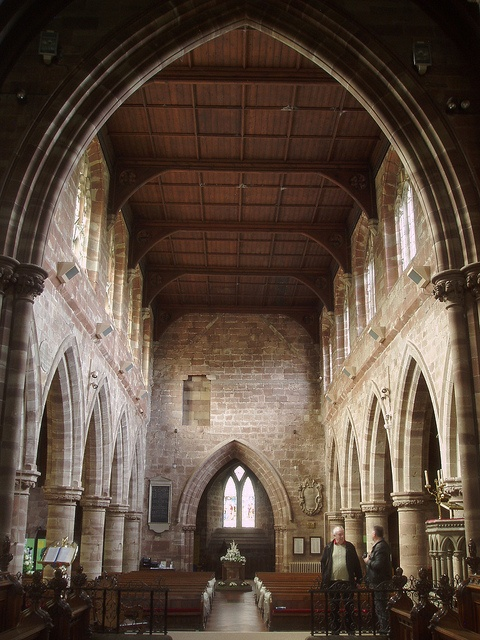 Nave looking West, Eccleshall