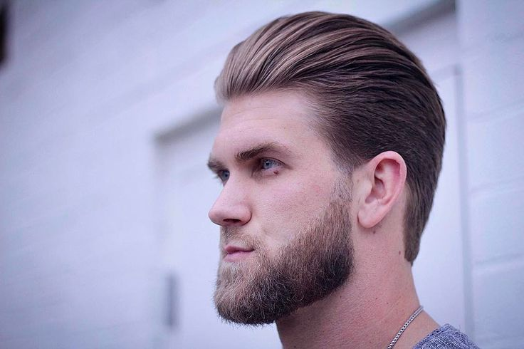 cool 40 Awesome Bryce Harper's Haircuts - Legendary Inspiration Check more at http://machohairstyles.com/best-bryce-harper-haircuts/