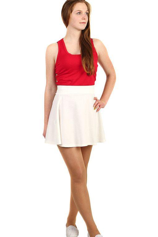 f9969cca219 Dámská áčková mini sukně