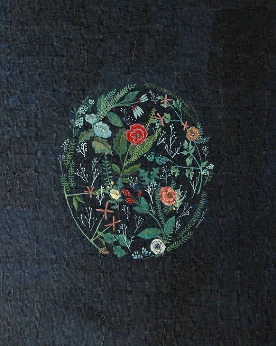 flora print by britthermann