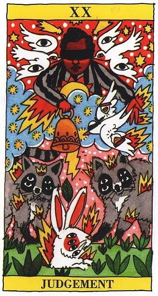 Decameron Tarot Deck Boxed 78 Card Set With Instruction: 277 Best Tarot Art - Judgement Images On Pinterest