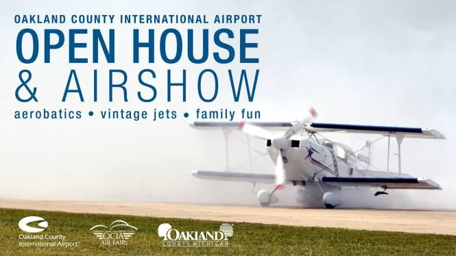 2017 Oakland County International Airport Open House & Air Show