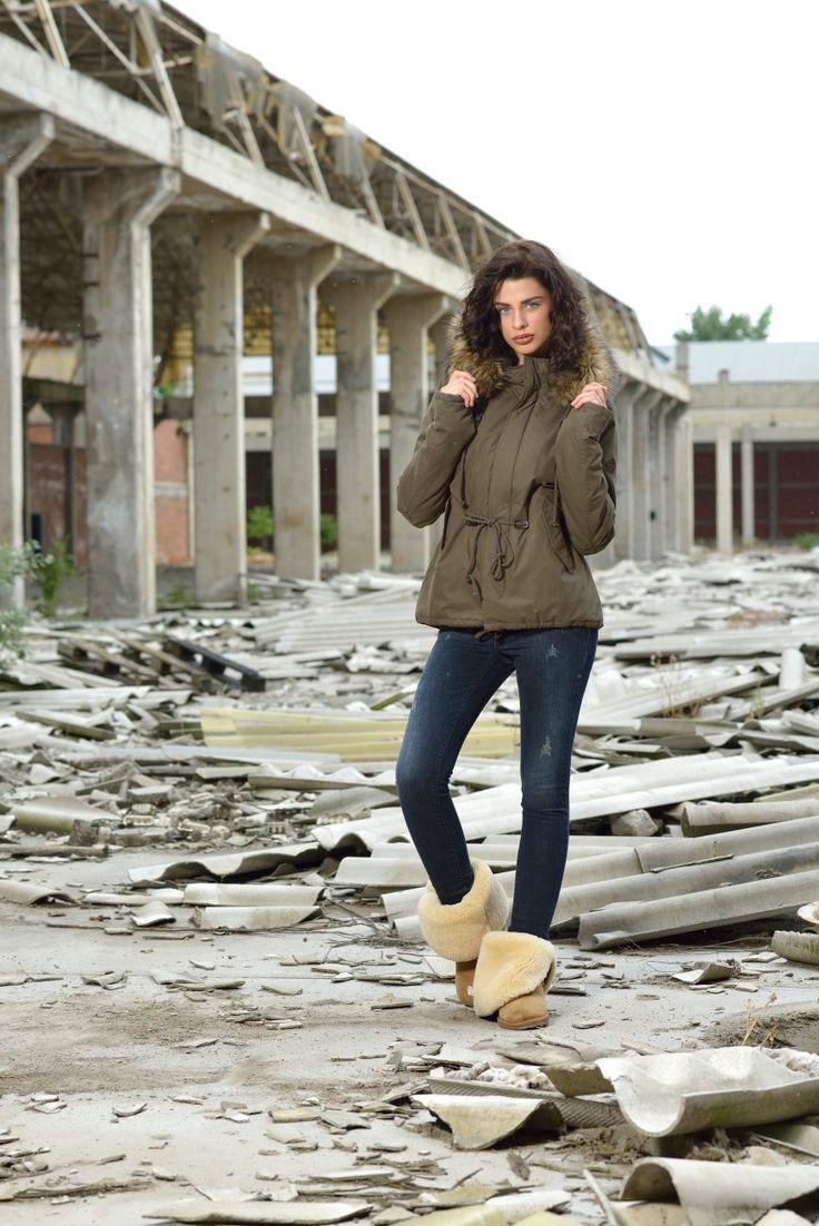 Splendid ladies' jacket autumn- winter 2015-2016. More at www.biston.gr