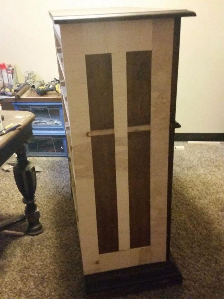 DIY Faux Printers/Map Cabinet