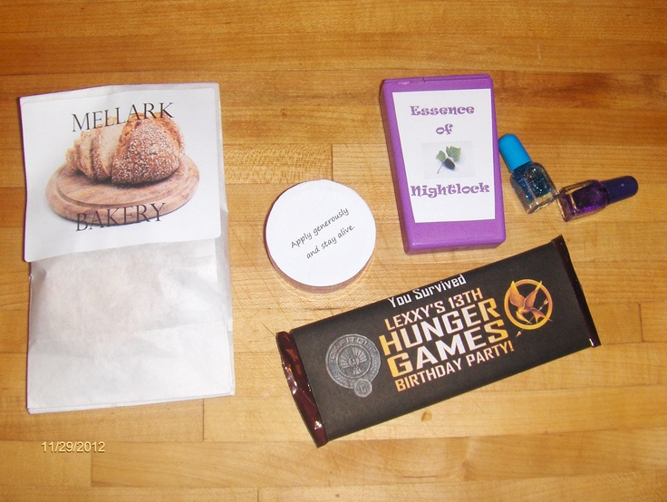 68 Best Hunger Games Birthday Ideas Images On Pinterest