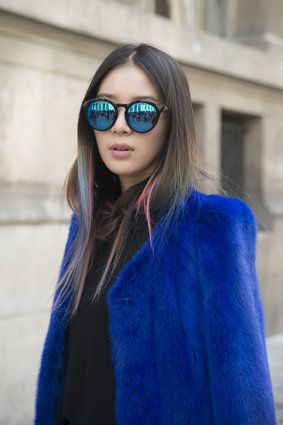 Paris Beauty Street Style Spring 2015 Is Full Of Shady Ladies