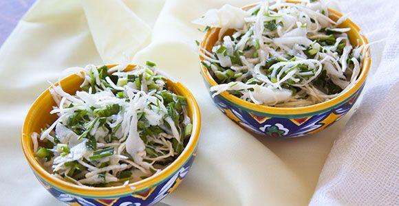Простой весенний салат к ужину [рецепт] | ХендКрафтер