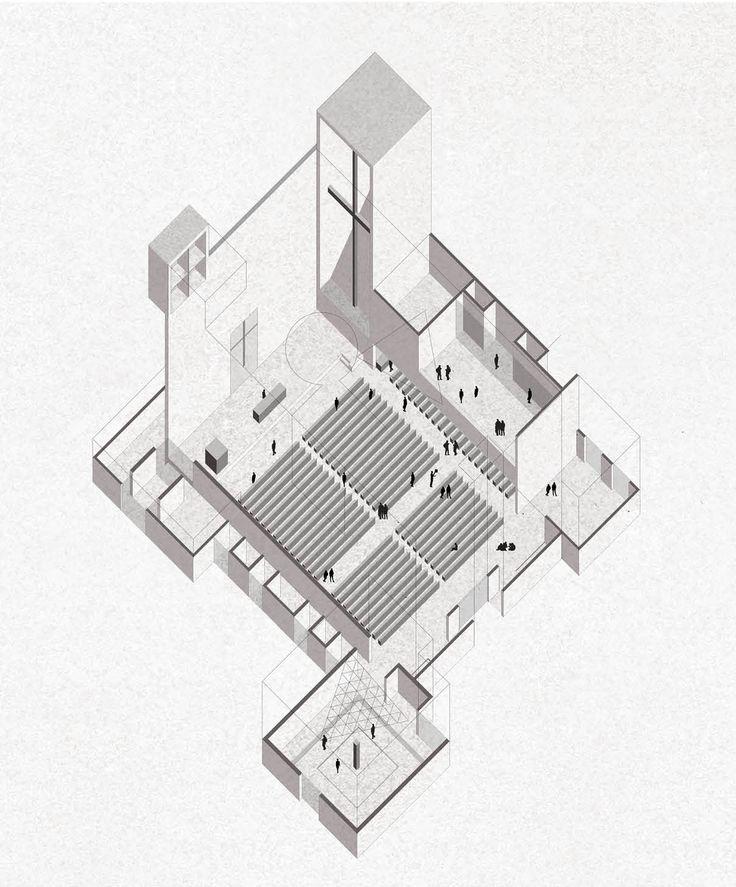 25 best ideas about axonometric drawing on pinterest for Architektur axonometrie