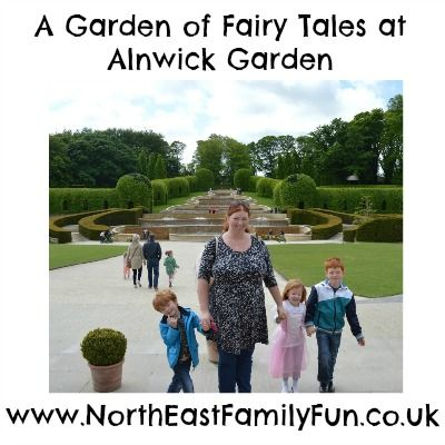 A review of our day at Alnwick Garden in  Northumberland