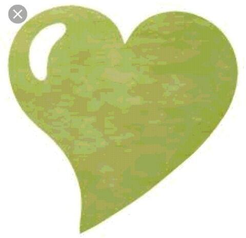 lot de 50 sets de tables en forme de cœur vert anis : Accessoires de maison par 1001-plaisirs