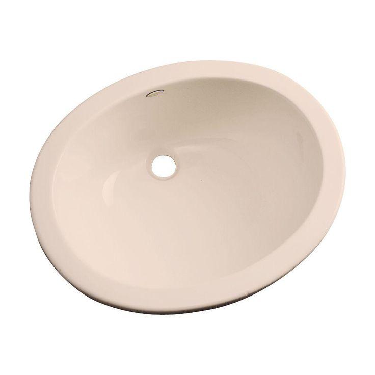 Thermocast Montera Undermount Bathroom Sink in