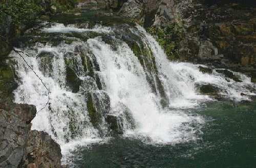 Oregon Waterfalls - Opal Creek Fall's (Santiam)