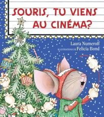 La souris de l'album Souris, tu veux un biscuit? est de retour juste à temps pour Noël! Cette fois, Souris va au cinéma. Et chacun sait que si tu invites une souris au cinéma, elle voudra du maïs soufflé… Et qu'une fois qu'elle aura son maïs soufflé, elle voudra en faire une guirlande qu'elle pourra accrocher dans l'arbre...