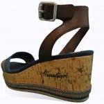 Sandalias Guess y Napapijri con cuña de corcho   Blog de zapatos y tendencias +Kezapatos