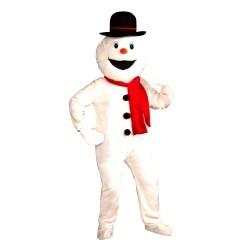 Snowman Economy Mascot Adult Costume