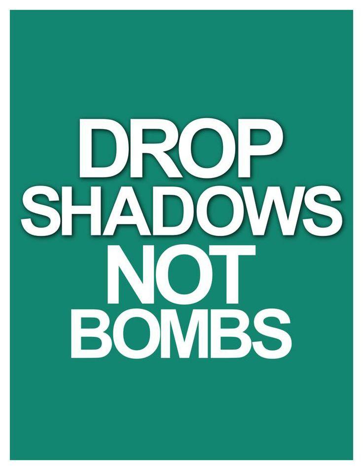 Drop Shadow...