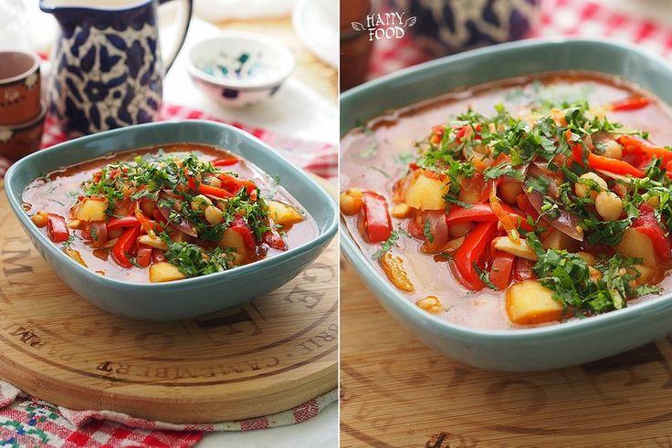 Minestra di peperoni e ceci - Суп с нутом и перцем - HAPPYFOOD