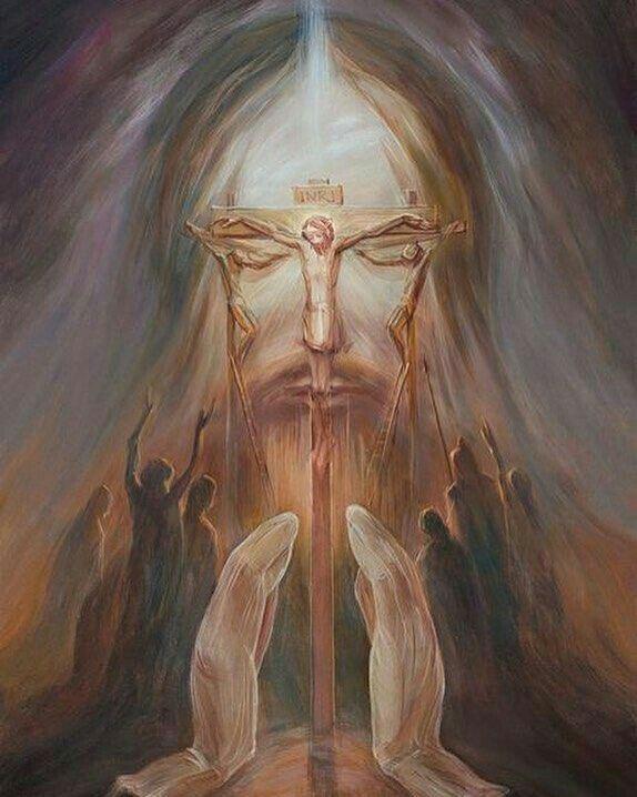 Cristo Arte De Jesús Arte De La Ilusión óptica Arte De Ilusión