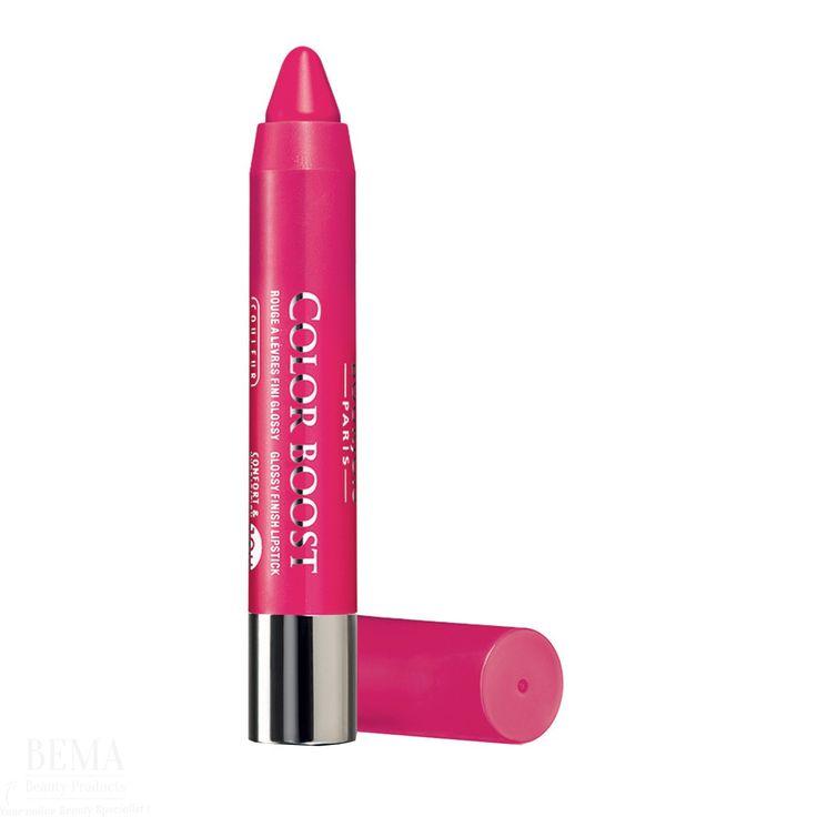 Bourjois Color Boost Makeup-bestellen.nl #bourjois #paris #makeup #lipstick #pink #lips