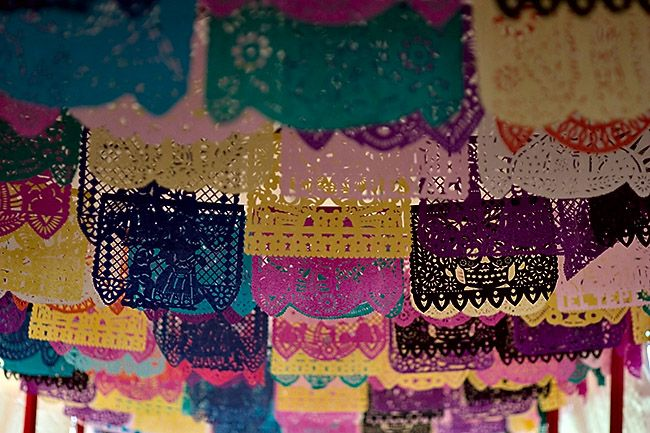 Papel Picado  Tutorial For Kids - Tissue paper cut outs