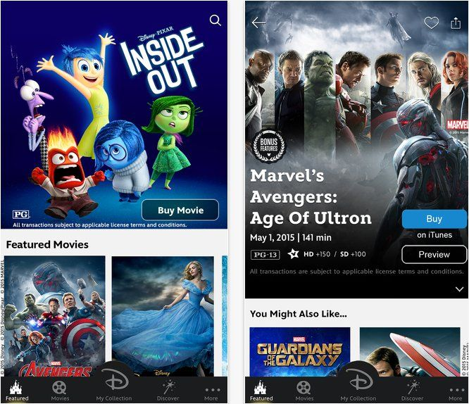 Pin for Later: 11 Apps Every Disney Superfan Needs to Download Disney Movies Anywhere