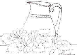 Resultado de imagen para jarra con flor
