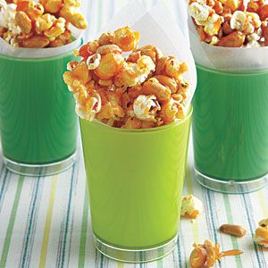 I'm gonna have to try this.  Love the carmael corn.  Caramel Popcorn and Peanuts | MyRecipes.com