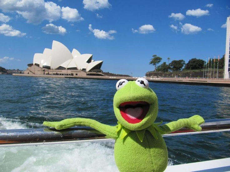 Kermit the Frog's Vacation