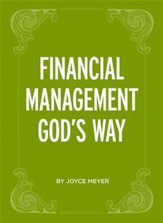 Joyce Meyer : Financial Management God's Way | Free eBook Download